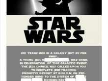 38 Adding Star Wars Birthday Invitation Template Download by Star Wars Birthday Invitation Template