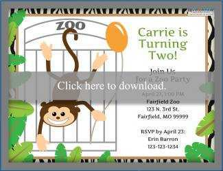 38 Creating Zoo Party Invitation Template in Photoshop with Zoo Party Invitation Template