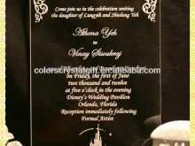 38 Format Example Of Unveiling Invitation Card Templates for Example Of Unveiling Invitation Card