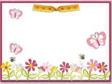 38 Online Birthday Invitation Butterfly Template Now with Birthday Invitation Butterfly Template