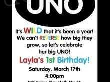 38 Online Uno Birthday Invitation Template Free With Stunning Design with Uno Birthday Invitation Template Free