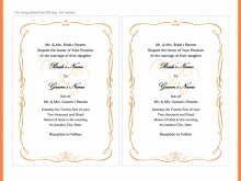 38 The Best Wedding Invitation Template For Ms Word Formating with Wedding Invitation Template For Ms Word