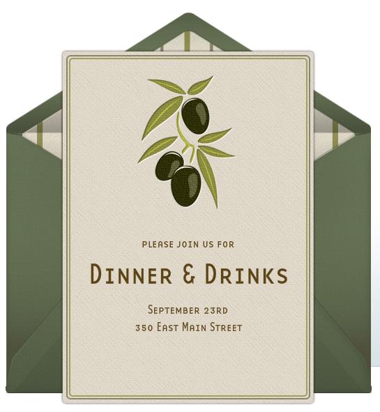 38 Visiting Dinner Invitation Examples Formating for Dinner Invitation Examples