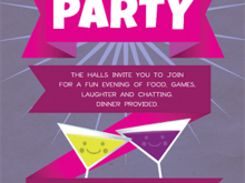 39 Creating House Party Invitation Template Layouts for House Party Invitation Template