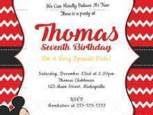 39 Customize Our Free Editable Mickey Mouse Birthday Invitation Template Templates with Editable Mickey Mouse Birthday Invitation Template