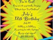 39 Format Birthday Invitation Template Laser Tag Formating for Birthday Invitation Template Laser Tag
