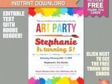 39 Free Birthday Party Invitation Template Art Free Photo with Birthday Party Invitation Template Art Free