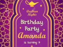 Party Invitation Template Vector Free