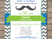 Editable Party Invitation Template