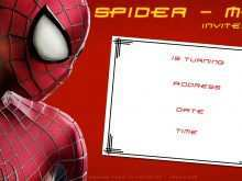 39 Visiting Spiderman Party Invitation Template Free Photo by Spiderman Party Invitation Template Free