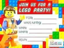 40 Adding Lego Birthday Party Invitation Template With Stunning Design with Lego Birthday Party Invitation Template