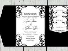 40 Creating Black And White Wedding Invitation Template Photo by Black And White Wedding Invitation Template