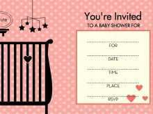 40 How To Create Blank Baby Shower Invitation Template For Free with Blank Baby Shower Invitation Template