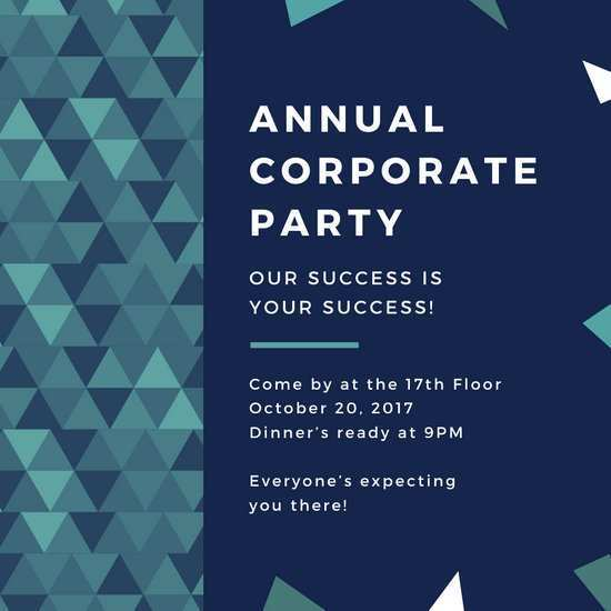 40 Report Office Party Invitation Template in Photoshop by Office Party Invitation Template