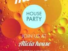40 Standard House Party Invitation Template Now by House Party Invitation Template