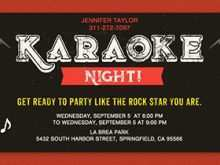 41 Adding Karaoke Party Invitation Template Download for Karaoke Party Invitation Template