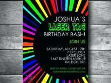 41 Best Birthday Invitation Template Laser Tag Photo by Birthday Invitation Template Laser Tag