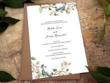 41 Customize Our Free Botanical Wedding Invitation Template Photo with Botanical Wedding Invitation Template