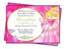Birthday Invitation Template Princess
