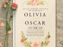 Vintage Wedding Invitation Template Free
