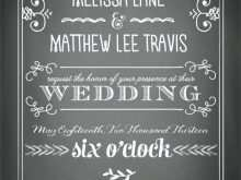 41 Free Chalkboard Wedding Invitation Template Free in Word with Chalkboard Wedding Invitation Template Free