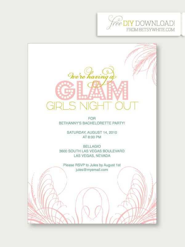 41 How To Create Hen Party Invitation Template Photo by Hen Party Invitation Template