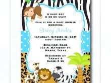 42 Adding Jungle Party Invitation Template Free Formating by Jungle Party Invitation Template Free