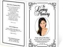 42 Blank Elegant Funeral Invitation Template For Free by Elegant Funeral Invitation Template