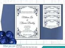 Free Blank Template For Wedding Invitation