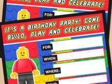 42 Customize Our Free Lego Party Invitation Template Free for Ms Word for Lego Party Invitation Template Free