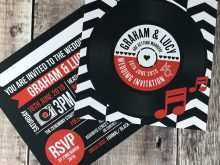 42 Customize Our Free Vinyl Record Wedding Invitation Template Photo with Vinyl Record Wedding Invitation Template