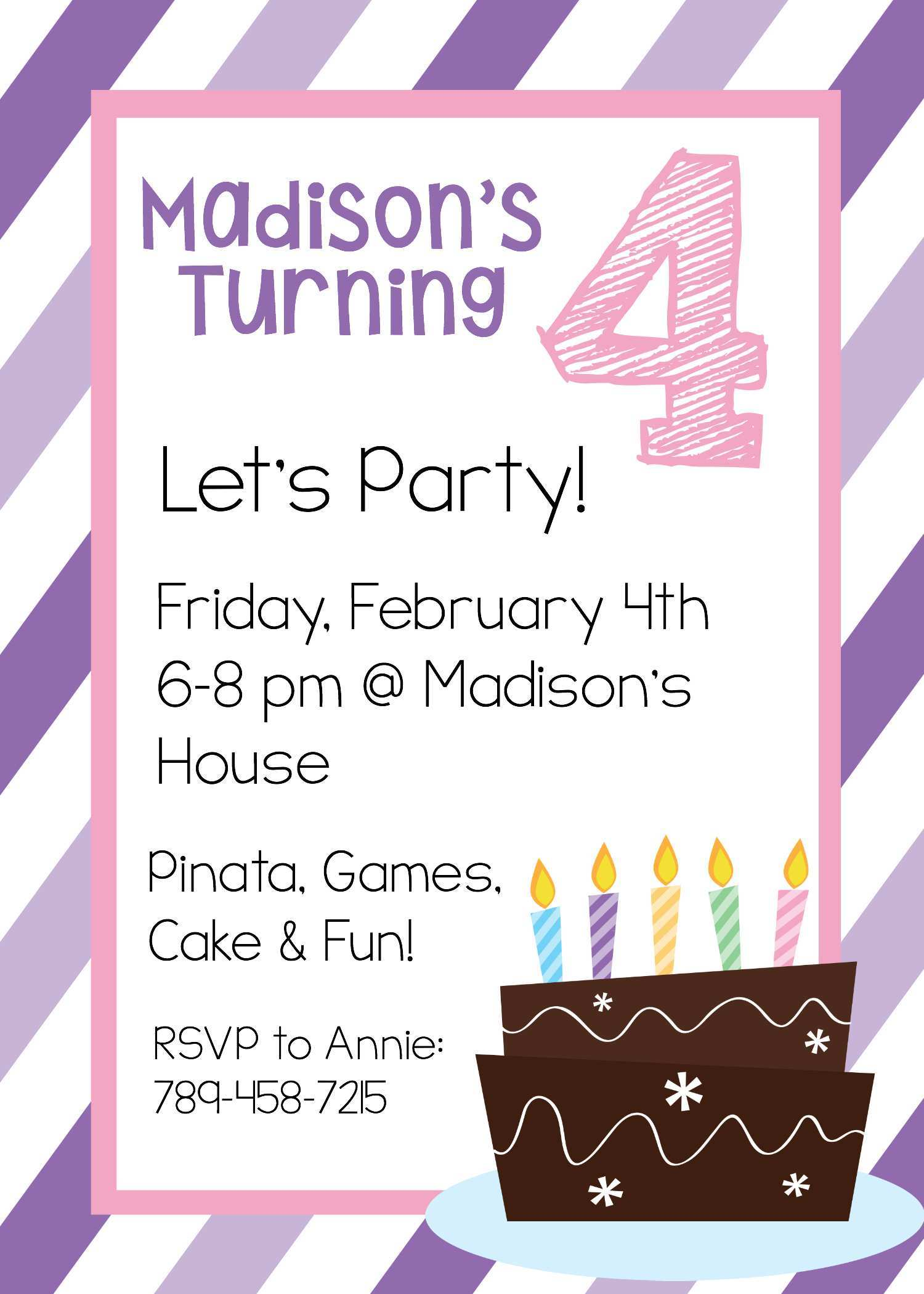 42 Free Kid Party Invitation Template With Stunning Design for Kid Party Invitation Template