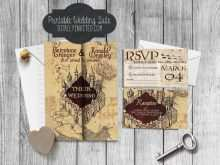 42 How To Create Harry Potter Wedding Invitation Template Formating for Harry Potter Wedding Invitation Template