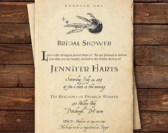 42 How To Create Harry Potter Wedding Invitation Template Photo by Harry Potter Wedding Invitation Template
