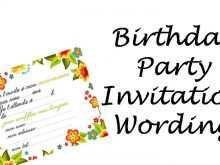 42 Printable How To Write An Invitation Card Example Now for How To Write An Invitation Card Example