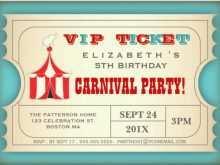 42 Visiting Circus Birthday Invitation Template Free for Ms Word by Circus Birthday Invitation Template Free