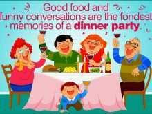 Dinner Invitation Examples