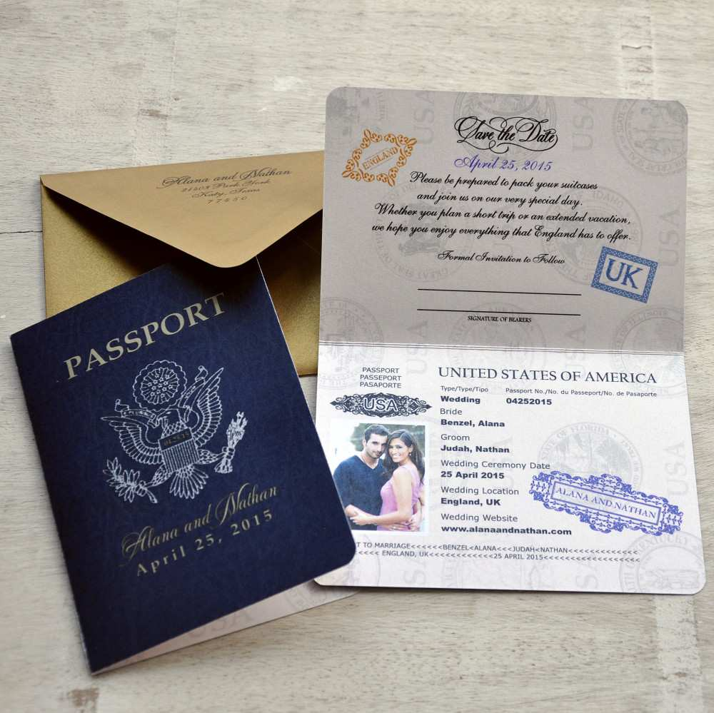 42 Visiting Passport Wedding Invitation Template Uk in Word with Passport Wedding Invitation Template Uk