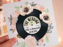 43 Creating Vinyl Record Wedding Invitation Template Layouts for Vinyl Record Wedding Invitation Template