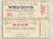 43 Creative Wedding Invitation Ticket Template Vector Free Download Maker by Wedding Invitation Ticket Template Vector Free Download