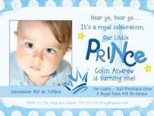43 Format Birthday Invitation Template For Baby Boy in Photoshop for Birthday Invitation Template For Baby Boy
