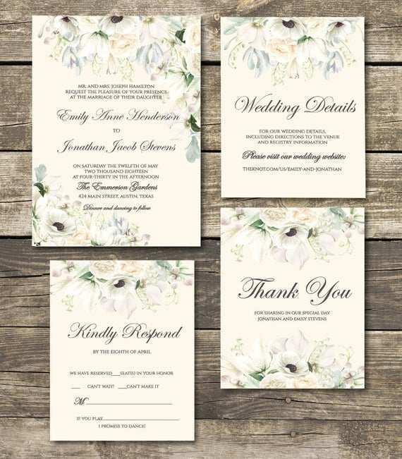 43 Format Botanical Wedding Invitation Template Layouts with Botanical Wedding Invitation Template