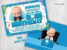 43 Free Printable Boss Baby Birthday Invitation Template for Ms Word with Boss Baby Birthday Invitation Template