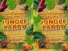 43 Free Printable Jungle Party Invitation Template Download for Jungle Party Invitation Template