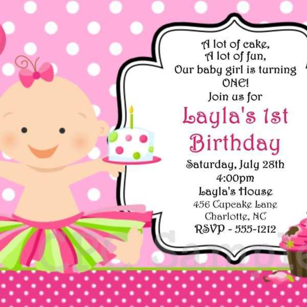 43 How To Create Birthday Invitation Template For Girl PSD File with Birthday Invitation Template For Girl