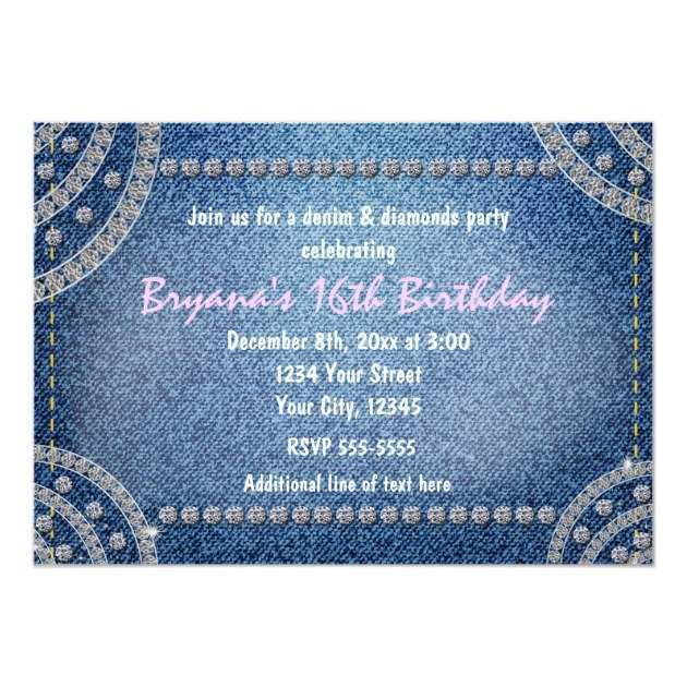 43 Visiting Denim Party Invitation Template in Word by Denim Party Invitation Template