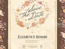 43 Visiting Floral Wedding Invitation Template With Stunning Design with Floral Wedding Invitation Template