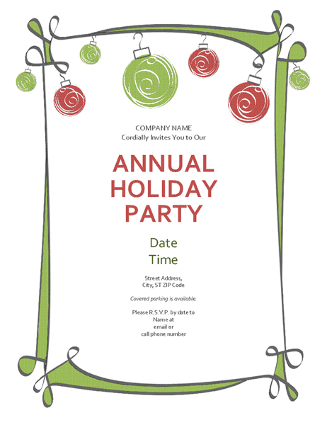 44 Best Party Invitation Border Templates in Word with Party Invitation Border Templates