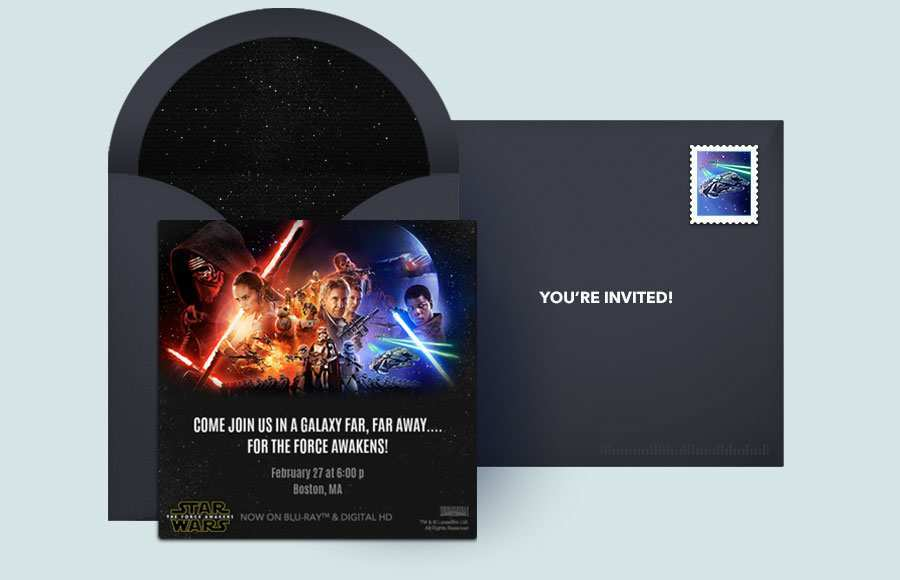 44 Best Star Wars Birthday Invitation Template Photo with Star Wars Birthday Invitation Template