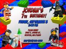 44 Customize Lego Party Invitation Template Free Templates by Lego Party Invitation Template Free